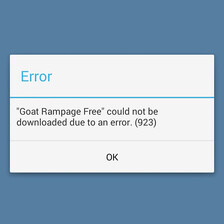 Here is what the common Google Play Store error codes mean