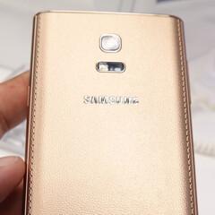 Golden Samsung Z caught in the wild