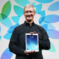 Tim Cook uses his iPad for 80% of his work