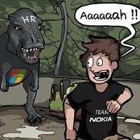 When Microsoft's job cuts meet Jurassic Park