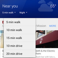 """Update to Google Maps for iOS and Android includes new contextually aware """"Explore"""" button"""
