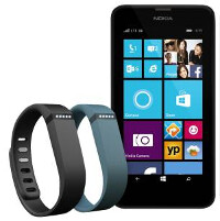 Microsoft has a sweet deal that comprises a Fitbit Flex and a certain Windows Phone device