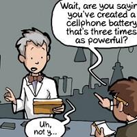 Humor: The Holy Grail – longer battery life