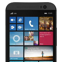HTC One (M8) for Windows render appears on Verizon's site