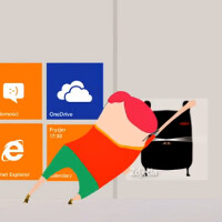 Nokia Poland video shows off double height Live Tiles