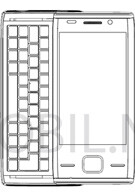 Sony Ericsson Xperia X2 blueprints in the open