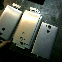 Huawei Ascend D3 metal shell leaks out with a mysterious cutout at the rear