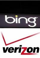 Verizon subscribers Bing away