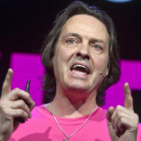 T-Mobile CEO Legere wants you to predict when T-Mobile will leap over Sprint