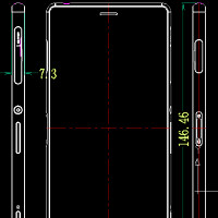 Xperia Z3 and Z3 Compact dimension drawings leak, show thinner handsets