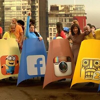 Nokia X2 commercial highlights fast lane in a sort of super-stunt fashion
