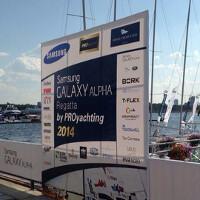 Samsung Galaxy Alpha Regatta held in Moscow