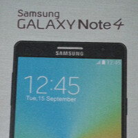 Image of alleged Samsung Galaxy Note 4 retail box surfaces