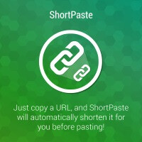 How to automatically shorten URLs with ShortPaste for Android