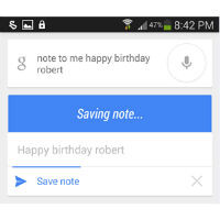 "Google Search APK hints at upcoming option to have notes ""sent from your computer"""