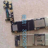 Apple iPhone 6 motherboard is pictured?