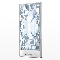"Gorgeous, ""frame-less"" Sharp Aquos Crystal smartphone coming to Sprint tomorrow?"