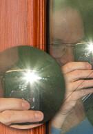 Google CEO Eric Schmidt captured on film using a BlackBerry