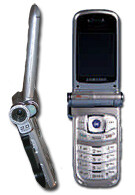 New Samsung camera CDMA phone with optical zoom and Bluetooth SPH-A940
