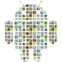 Yahoo says the average Android user has 95 installed apps, but only uses 35