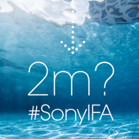 Sony spills the beans once again, hints at devices surviving in up to 2 meters under water, probably more