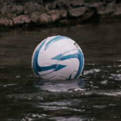 Sony promotes the Xperia Z2 by filming a game of river football