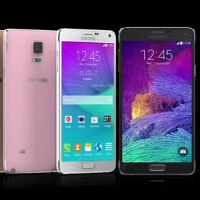 Samsung Galaxy Note 4 versus its rivals: size comparison