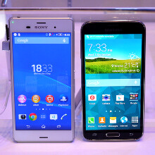Sony Xperia Z3 vs Galaxy S5: first look