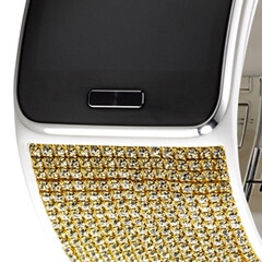 Samsung's Gear S Strap will put Swarovski crystals on your wrist (if you have the money for it)