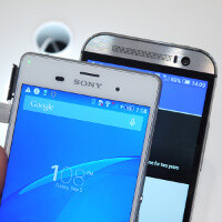 Sony Xperia Z3 vs HTC One (M8): first look
