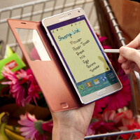 Here are the official Galaxy Note 4 cases