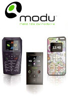 The innovative handset, called Modu rolls out this month?