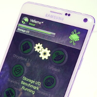 Preliminary Galaxy Note 4 benchmark results