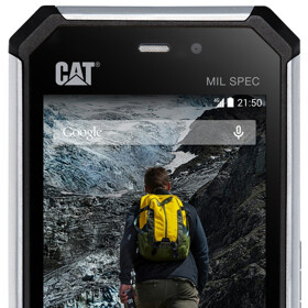 Cat's new S50 rugged smartphone features LTE, Snapdragon CPU, and Android KitKat