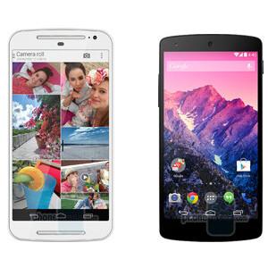 New Moto G vs Nexus 5 vs Galaxy S5 specs and size comparison