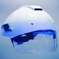 Android powered smart helmet produced by DAQRI