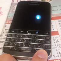 BlackBerry Classic poses for a pair of photos
