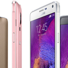 Which Samsung Galaxy Note 4 color do you like best: black, white, pink, or gold?