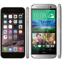iPhone 6 vs HTC One (M8): in-depth specs comparison