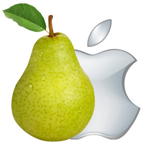 Samsung Belgium will donate a pear for every Apple tweet sent out today