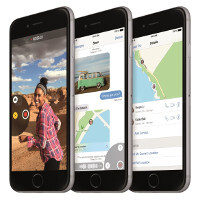 Here's how the Reachability feature on the iPhone 6 and iPhone 6 Plus works