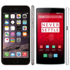 OnePlus welcomes Apple and its 5.5-inch iPhone 6 to the