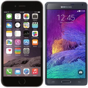 Samsung claims Apple's iPhone 6 Plus imitates the Galaxy Note series