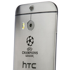 HTC shows off a One (M8) Champions League Collector's Edition, buying it isn't an option