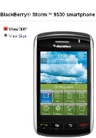 BlackBerry Storm contract price cut to $99 by Verizon