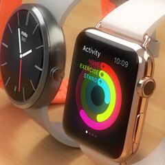 Apple Watch gets compared to the Moto 360, Samsung Gear 2 Neo, and Pebble Steel