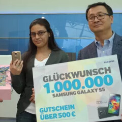 Samsung sells 1 million Galaxy S5 smartphones... in Germany