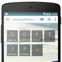 Javelin Browser for Android gets a big update