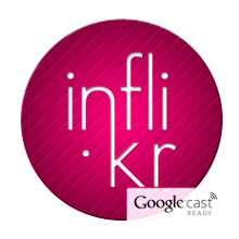 Inflikr picture viewer for Flickr is better than the Android original