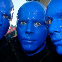 Watch the Blue Man Group unbox the Apple iPhone 6